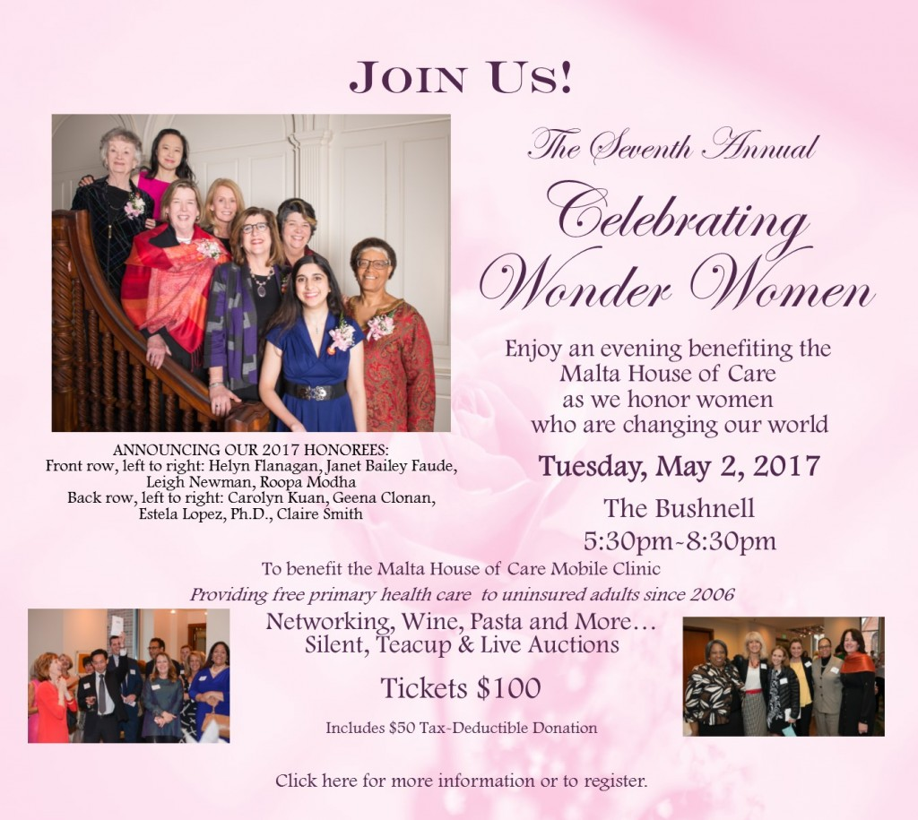 Malta House of Care Celebrating Wonder Women 2017 Save the Date rev A