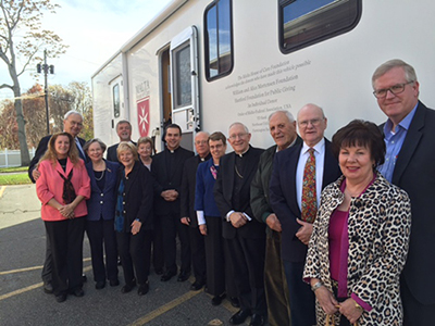 Dedication of Malta House of Care in East Hartford, 2015