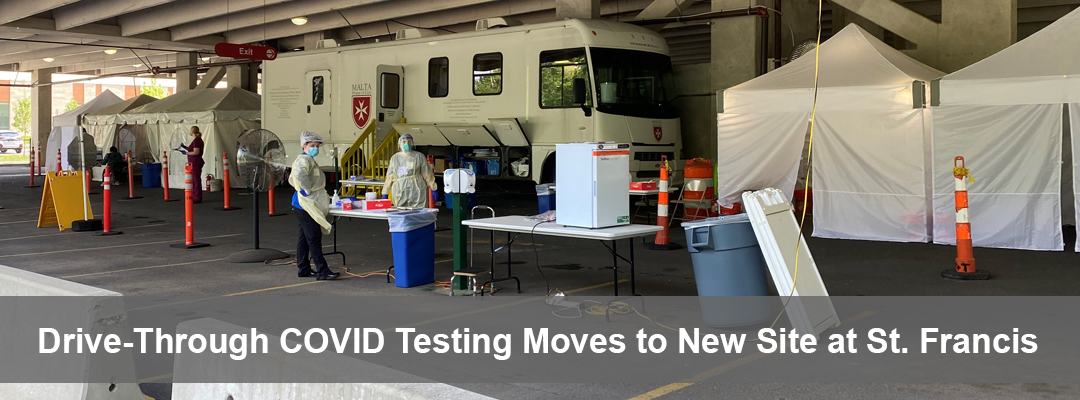 COVID Test site moves to St. Francis