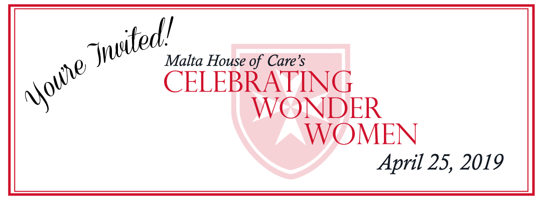 You're Invited! April 25, 2019 Celebrating Wonder Women